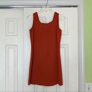 Loft Summer Orange Dress